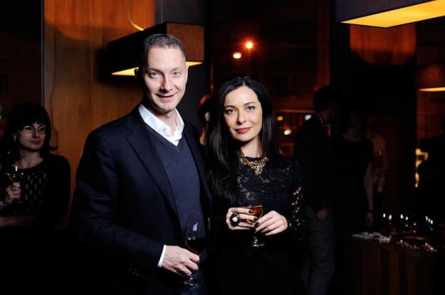 Борис Ложкин с женой Надеждой Шаломовой, фото: UMH group
