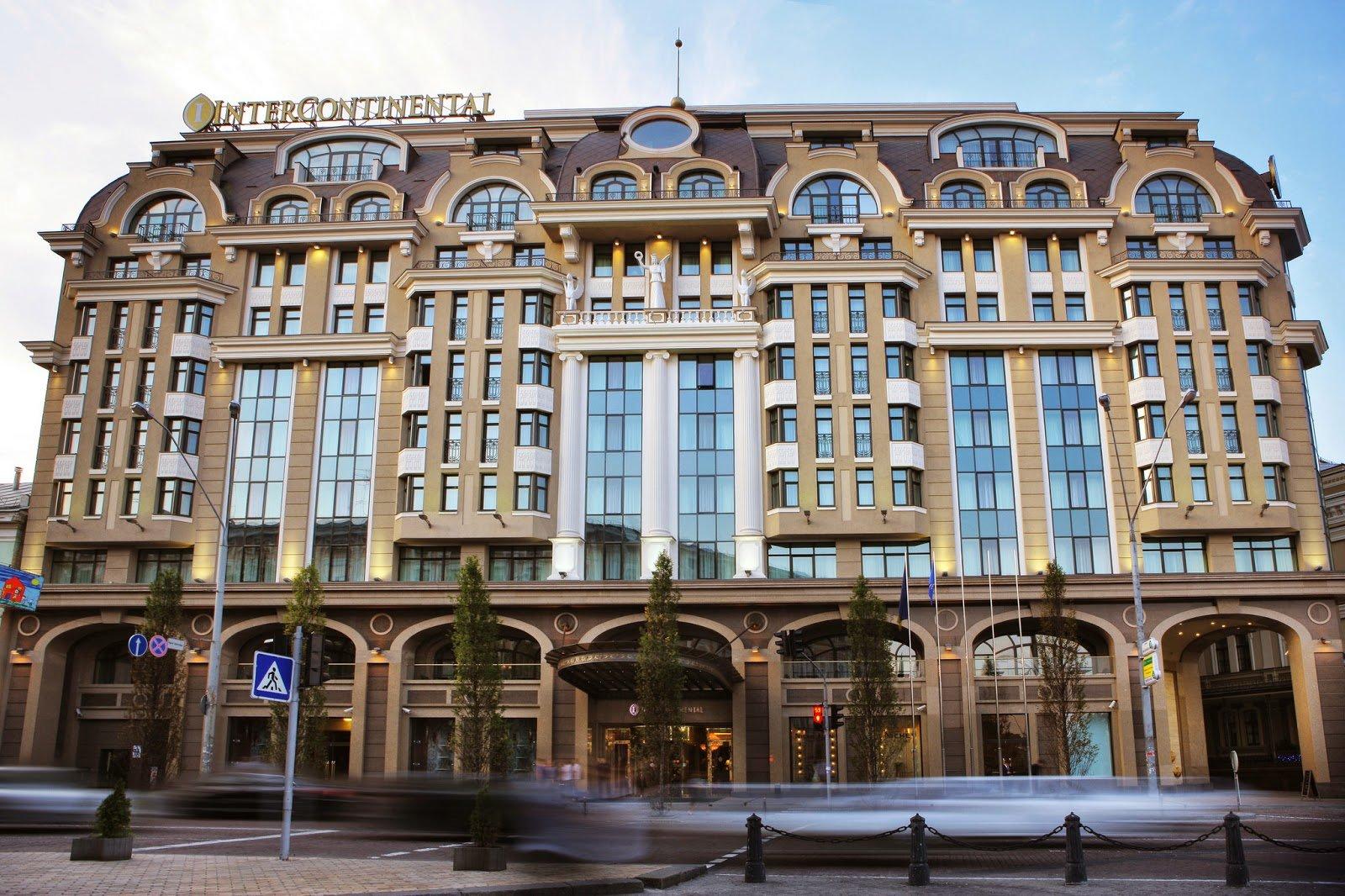 Пятизвездочная гостинница Intercontinental, фото: Booking.com