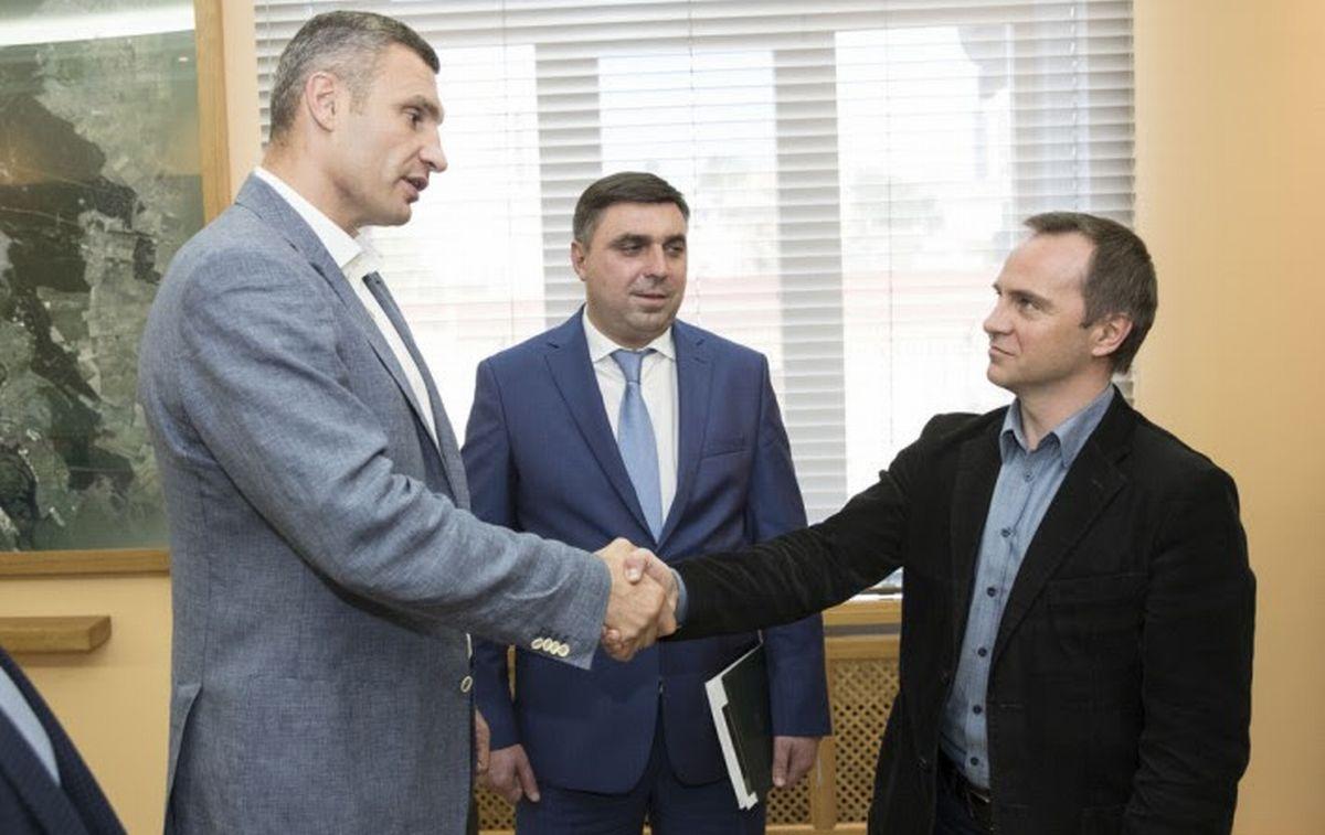 Виталий Кличко и Александр Свистунов, фото:kievcity.gov.ua/news