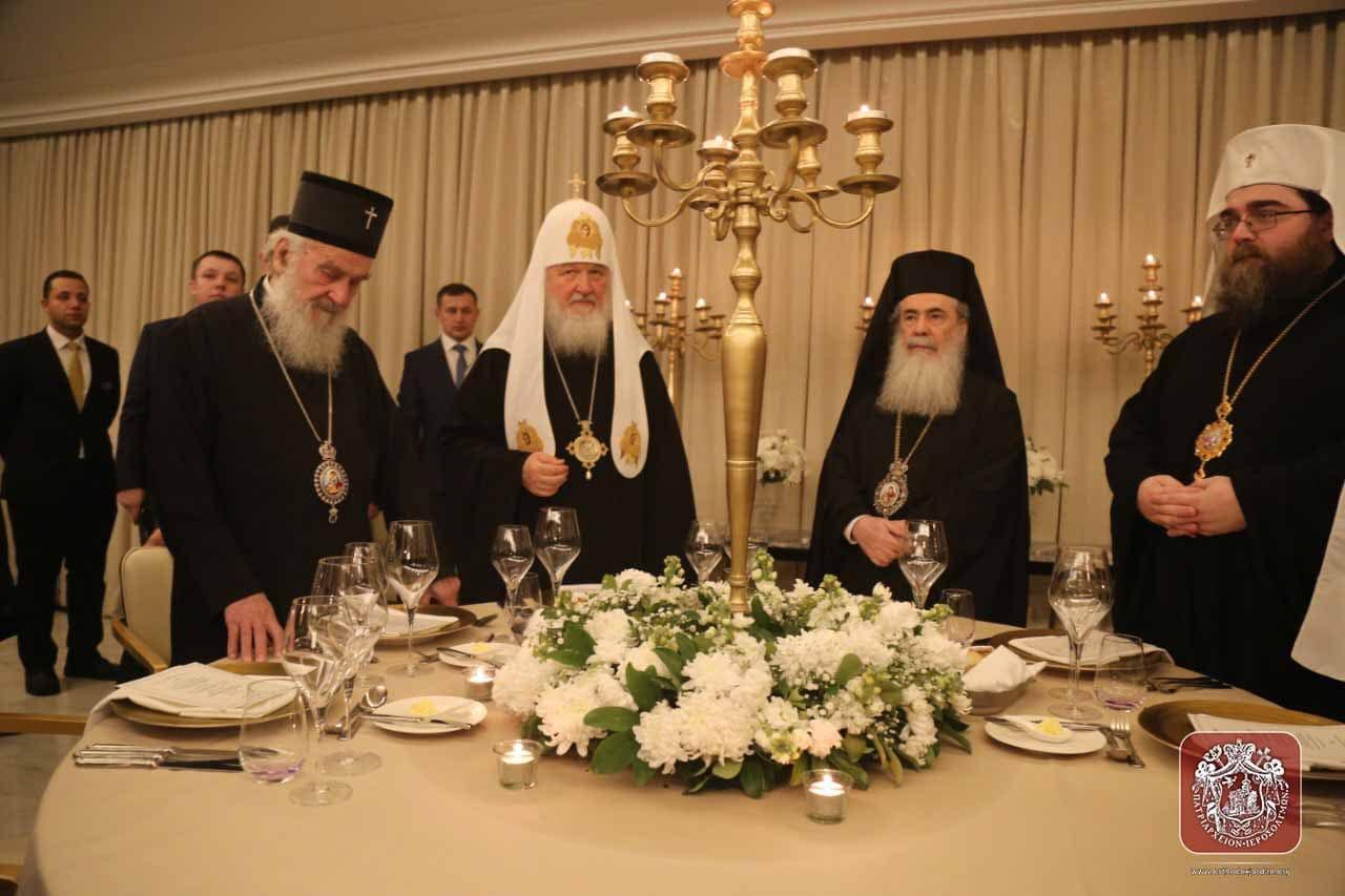 Как выглядела встреча РПЦ в Аммане: фото
