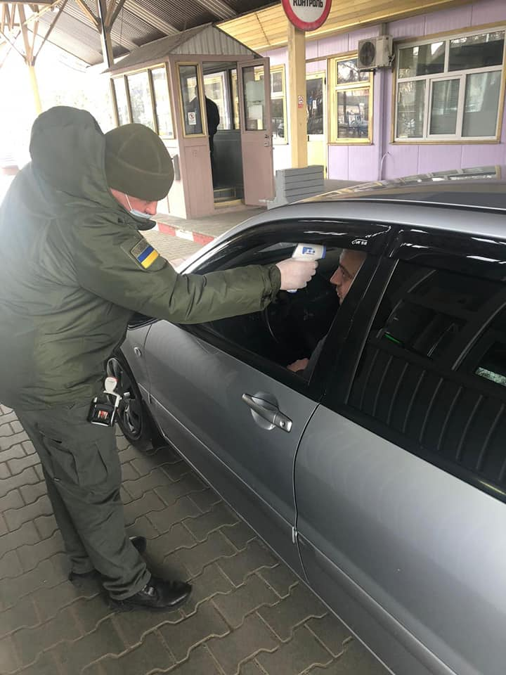 Температурный скрининг прибывшим из Молдовы: фото