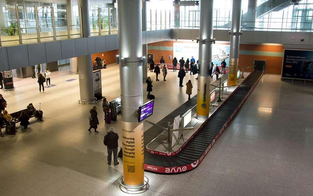 Аэропорт Львов (Фото: LvivAirport/Facebook)