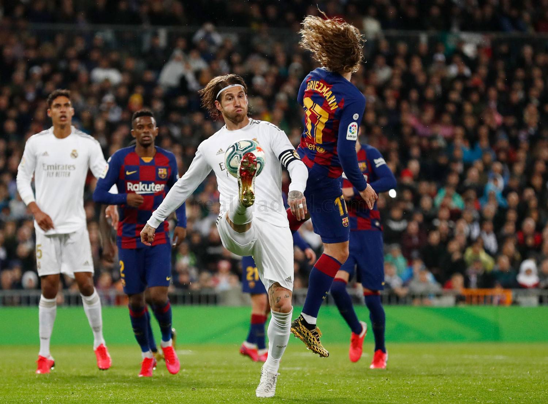 Серхио Рамос, Антуан Гризманн. Реал Мадрид vs Барселона (фото - пресс-служба Реала)