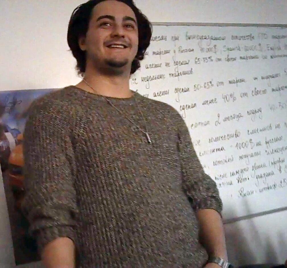 Назвавшийся Вильямом Бредли человек рассказывает, как получил $150 000 от клиента. Фото: Dagens Nyheter