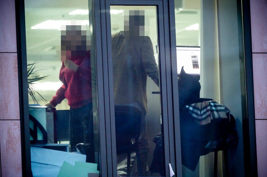 Вид в окно офиса Milton Group. Фото: Dagens Nyheter