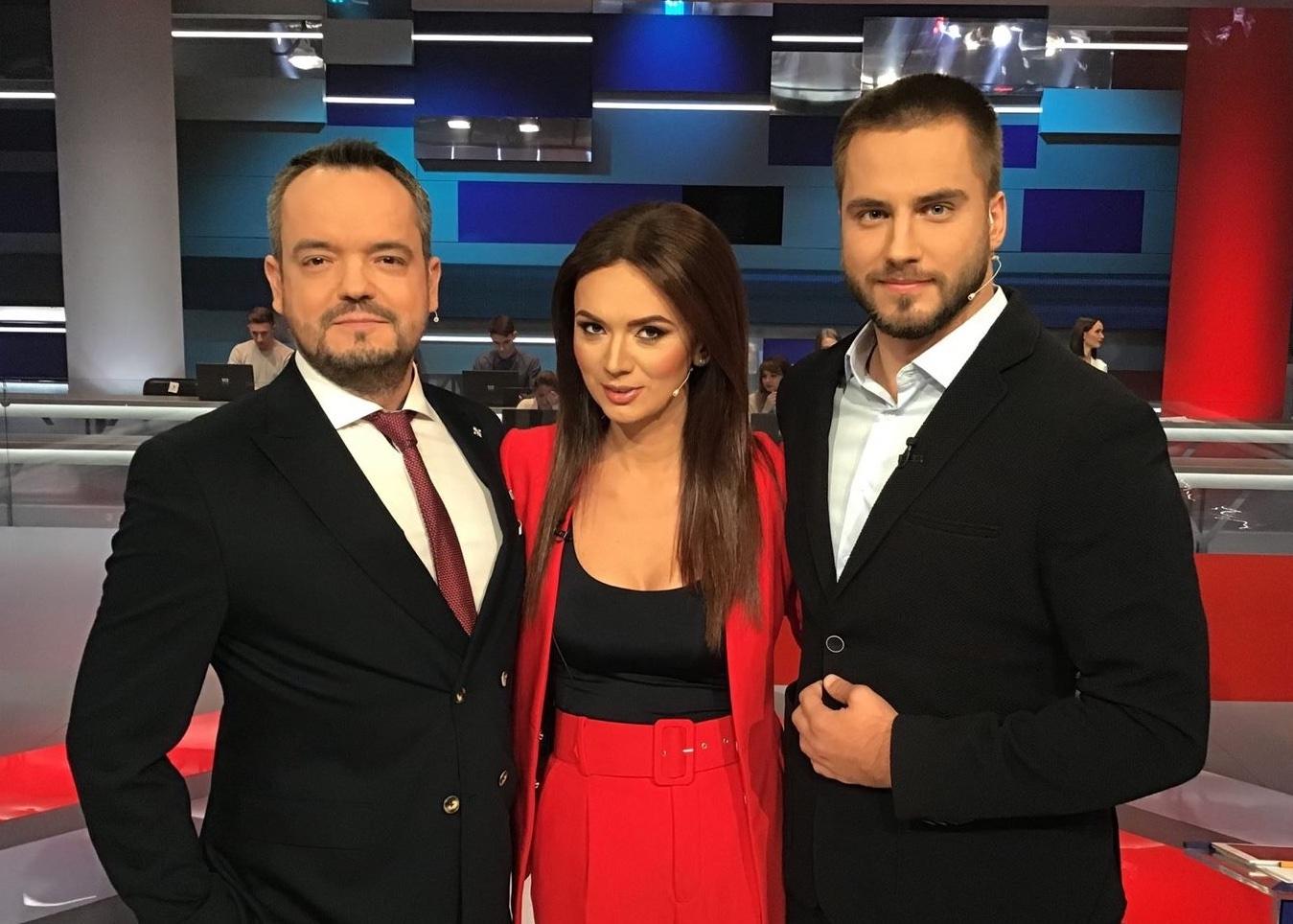 Василий Голованов, Анна Степанец и Владимир Полуев (фото - Facebook Полуева)