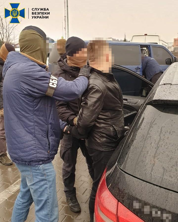CБУ задержала подозреваемых: фото