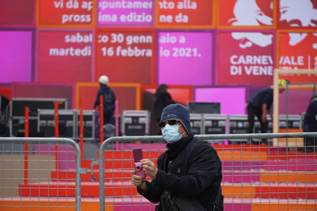 Коронавирус в итальянской Венеции (Фото: EPA)