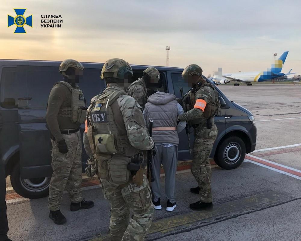 Экстрадиция Алексея Левина в Украину (Фото: СБУ)