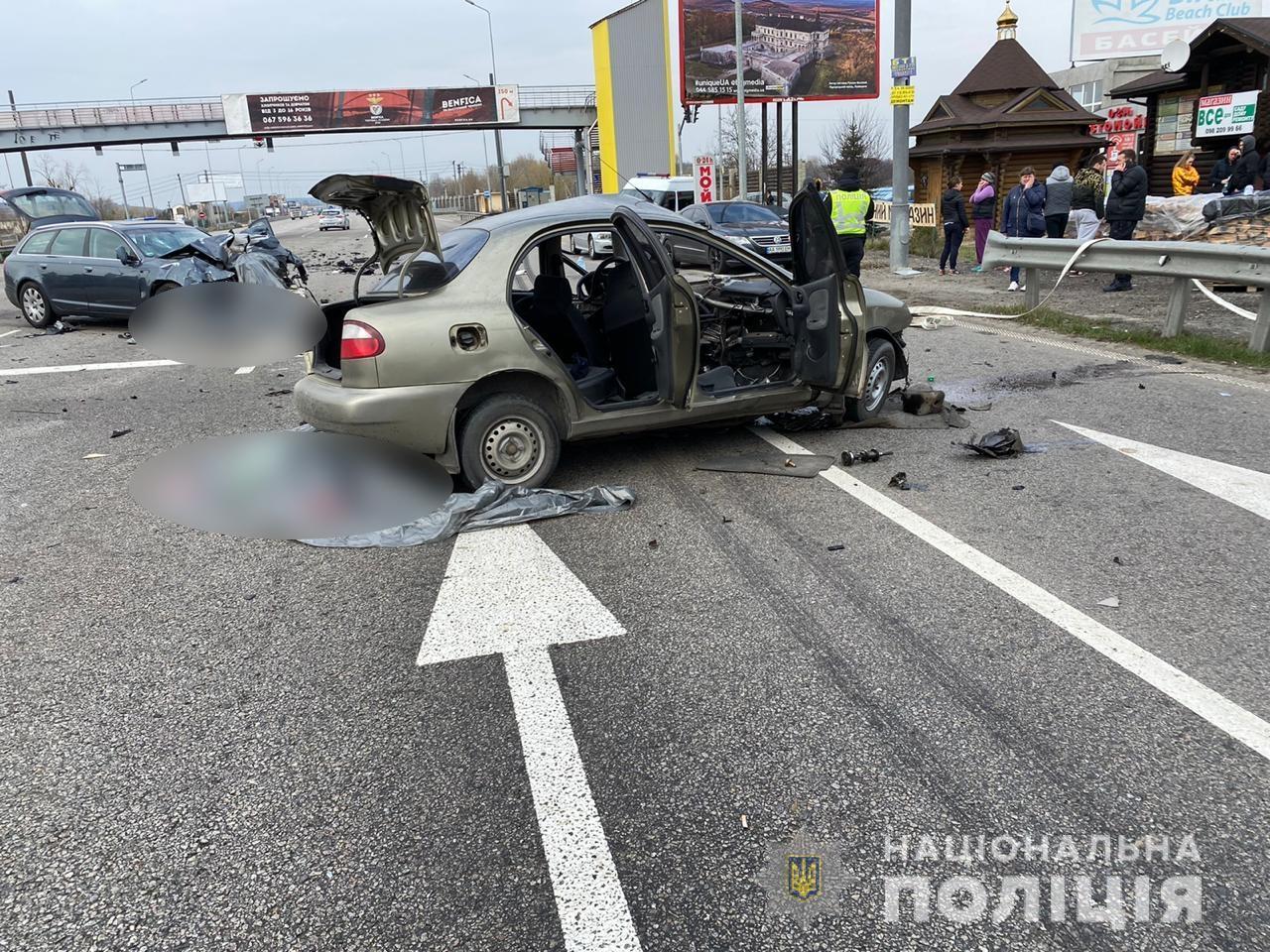 ДТП на Обуховской трассе: фото