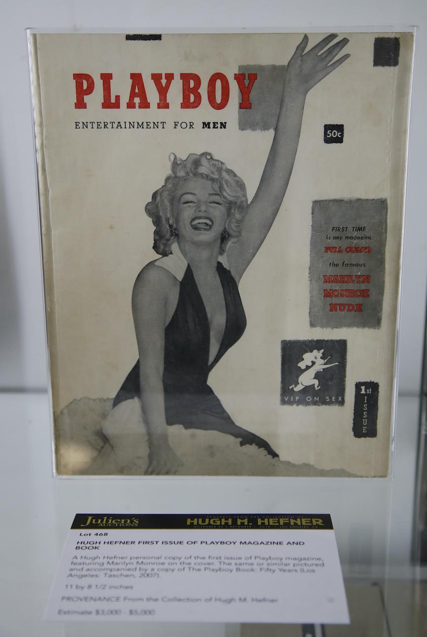 Первый выпуск журнала Playboy вышел в 1953 году (фото: EPA)
