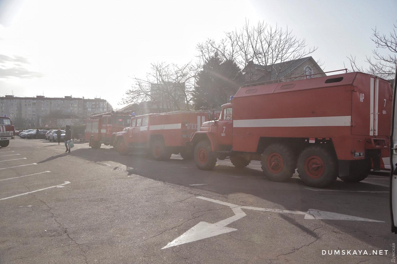 Пожар в Одессе 27 марта: фото