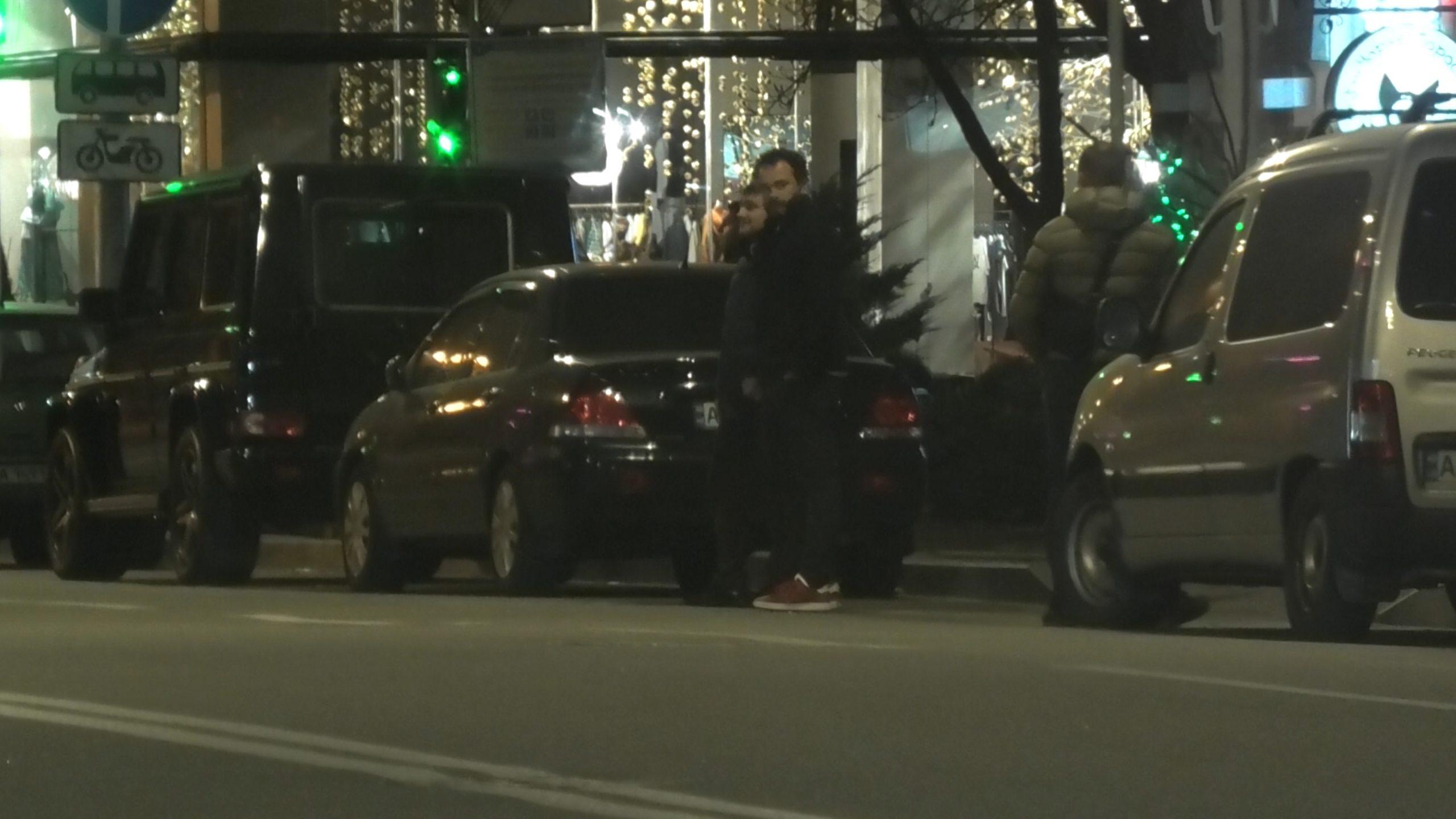 Александр Дубинский при выходе из Миллениума (Фото: Bihus.Info)