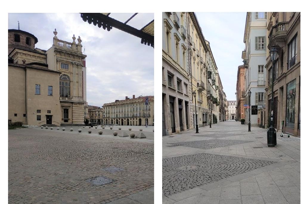 Кастелло, центральная площадь Турина, фото: личный архив автора