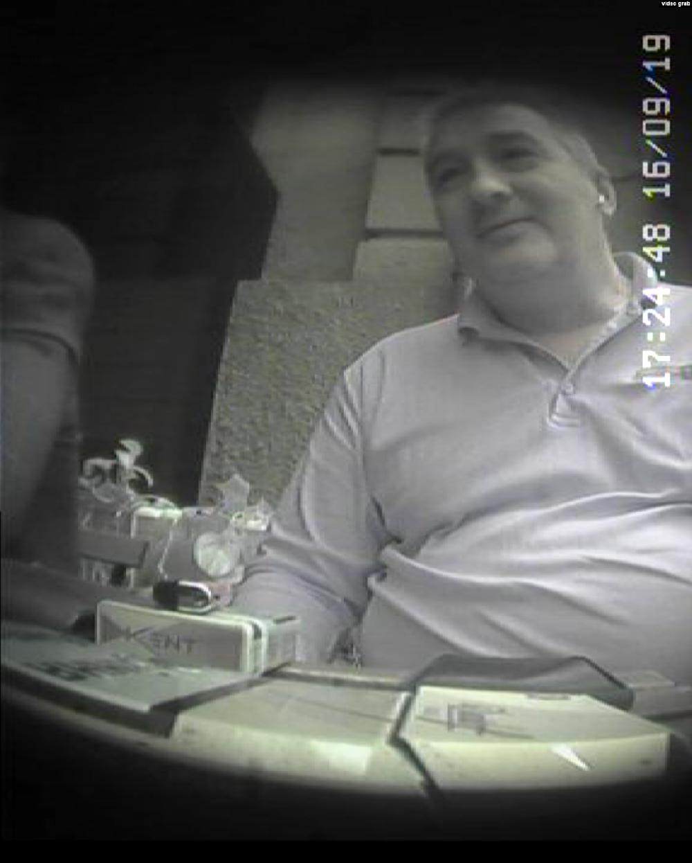 Помощник Дениса Ермака Сергей (Фото: скриншот из видео, опубликованный Радио Свобода)