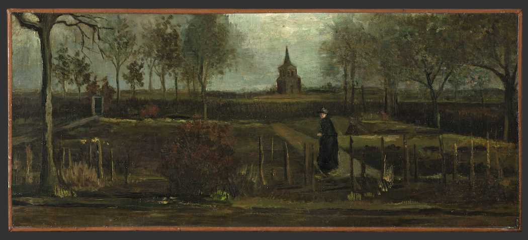 Украденная картина Ван Гога - Весенний сад (Фото: EPA)