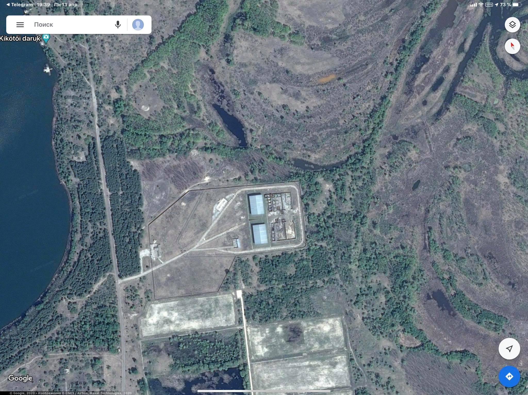 Хранилище отработанного ядерного топлива Подлесное (Фото: Facebook Антона Геращенко)