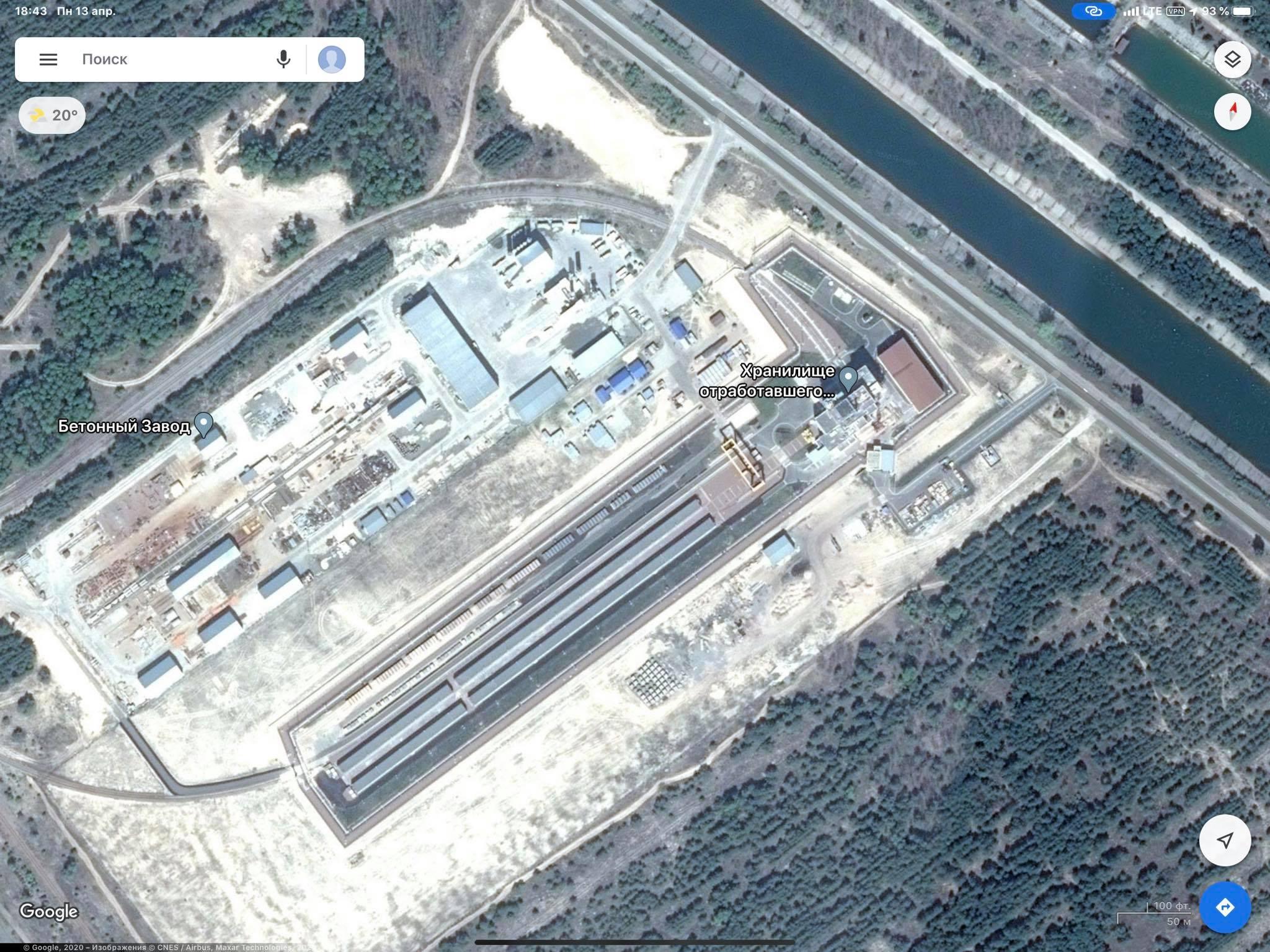 Хранилище отработанного ядерного топлива, ХОЯТ-2 (Фото: Facebook Антона Геращенко)