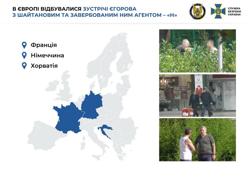 Данные СБУ о встрече Шайтанова с Егоровым