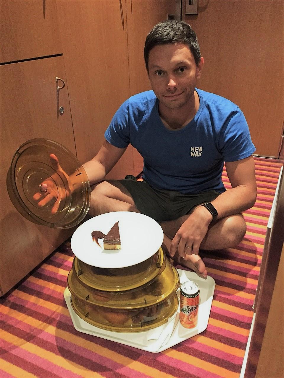 Обед в каюте, фото: личный архив Владислава Солодовника