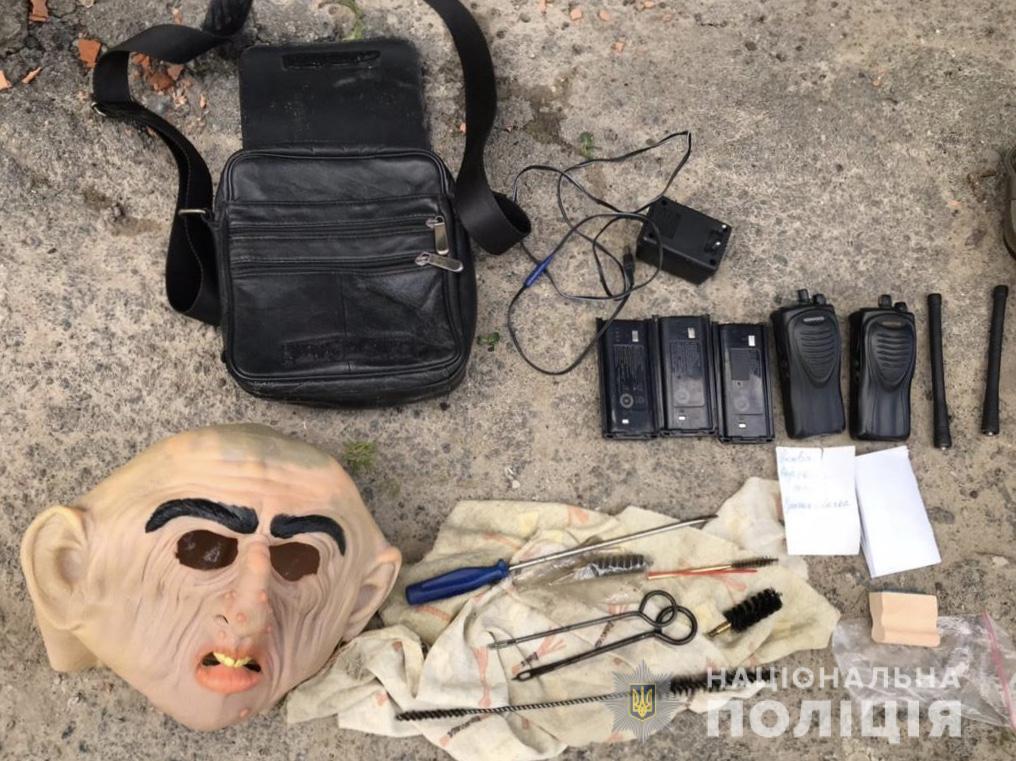 Задержание банды в Киевской области: фото