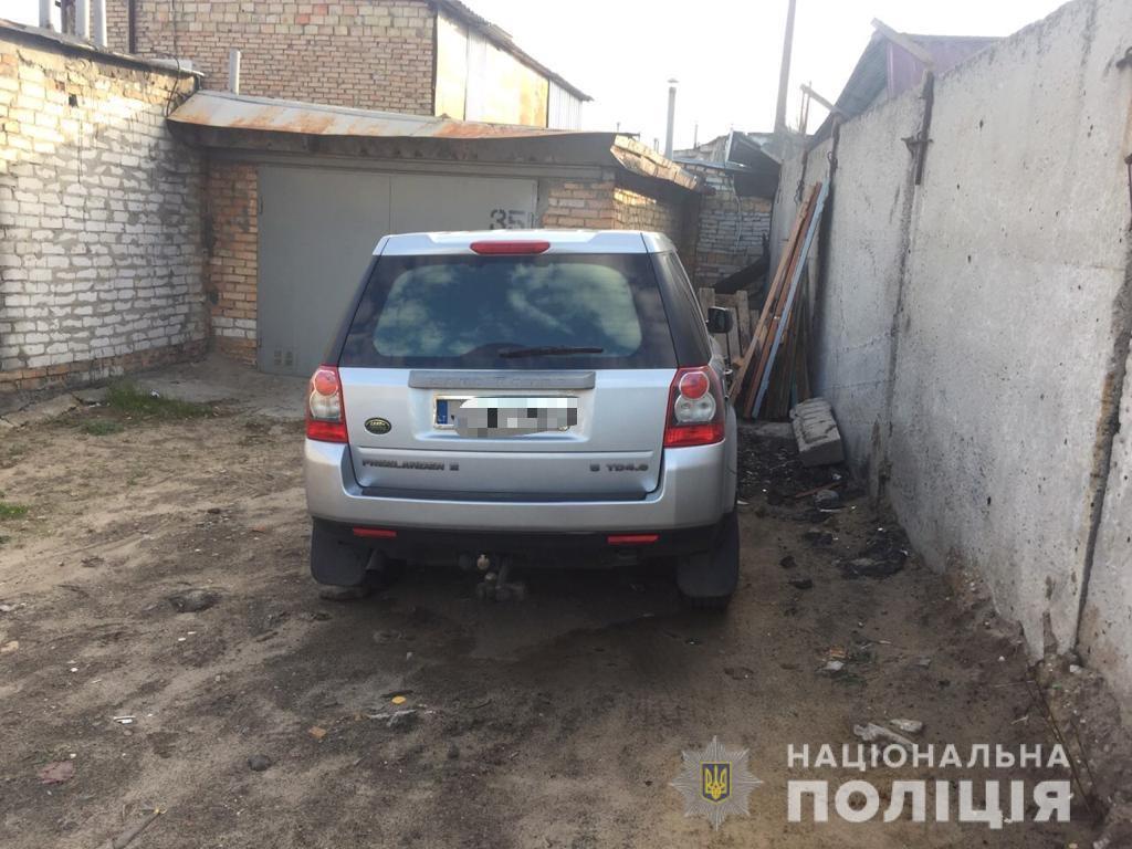 Задержание банды грабителей в Киевской области