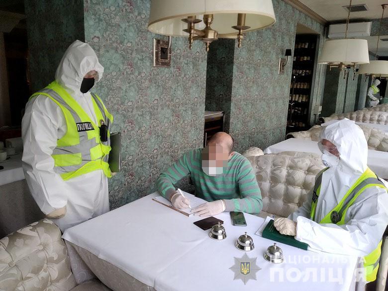 """Полиция пришла с проверкой в ресторан """"Велюр"""" депутата Тищенко: видео"""