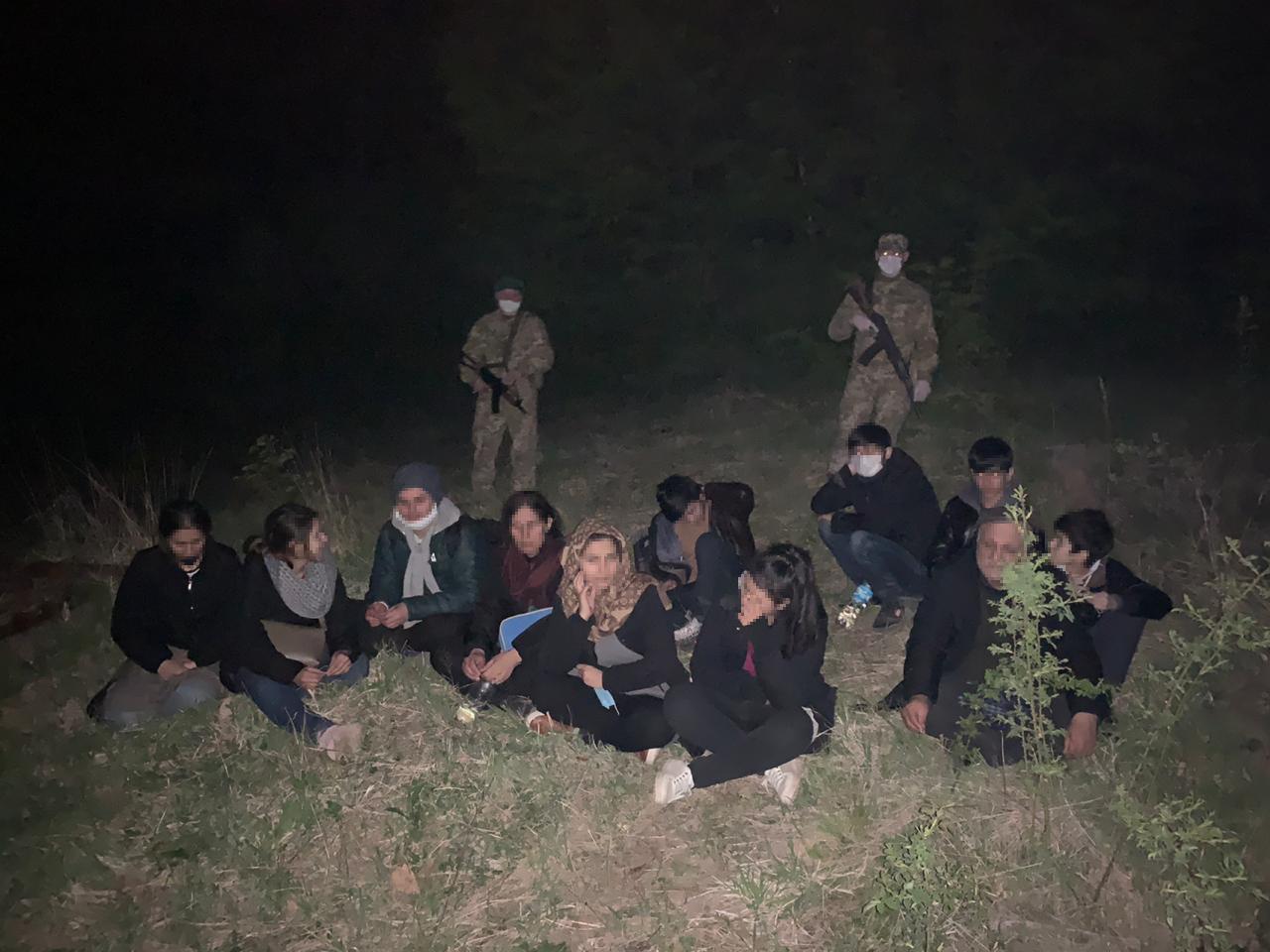 Пограничники задержали нелегалов на Закарпатье