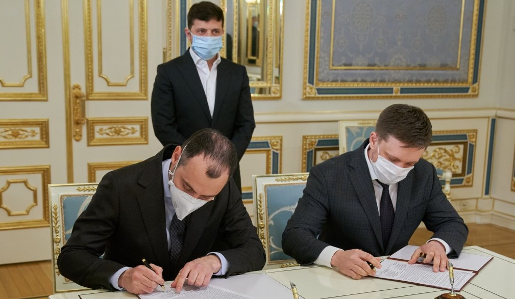 Укрексімбанк і Укравтодор підписали кредитну угоду на 19 млрд грн