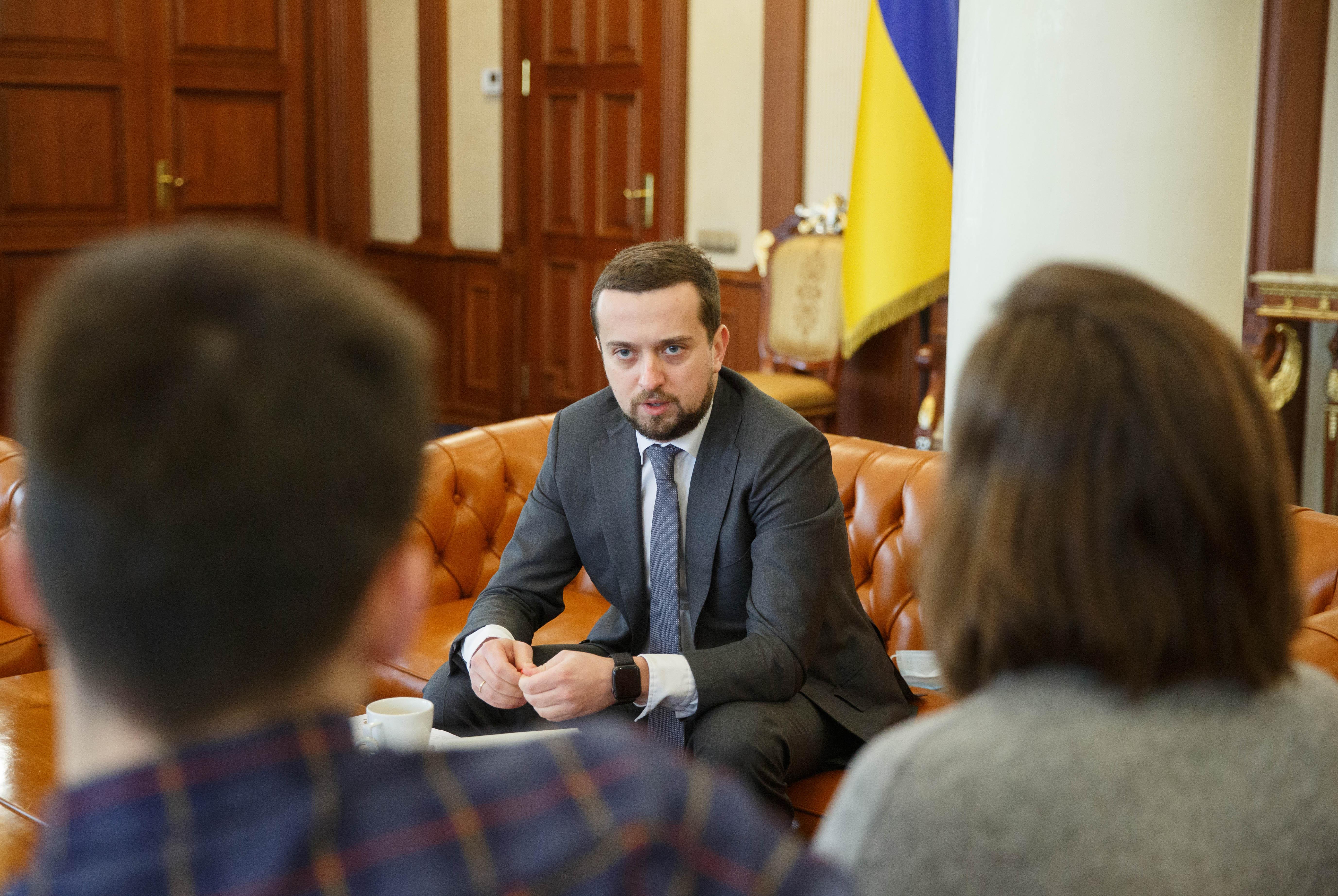 Кирилл Тимошенко (фото - пресс-служба Офиса президента)