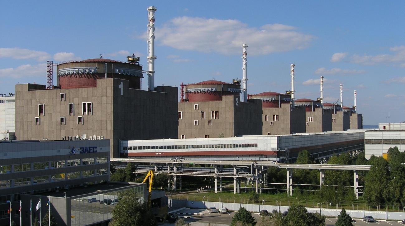 Запорожская АЭС (Фото: пресс-служба Энергоатома)