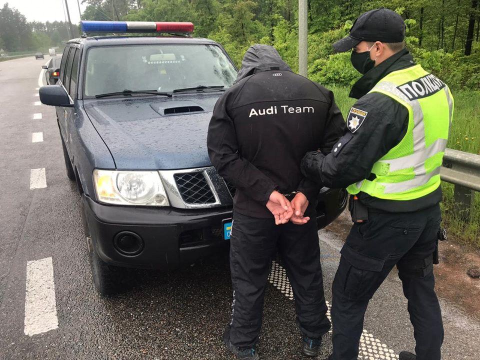 Полиция задержала участников перестрелки