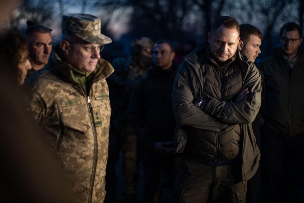 Руслан Хомчак и Андрей Ермак (фото - Офис президента)