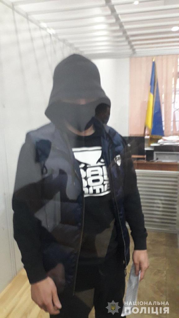 Подозреваемые в перестрелке в Броварах