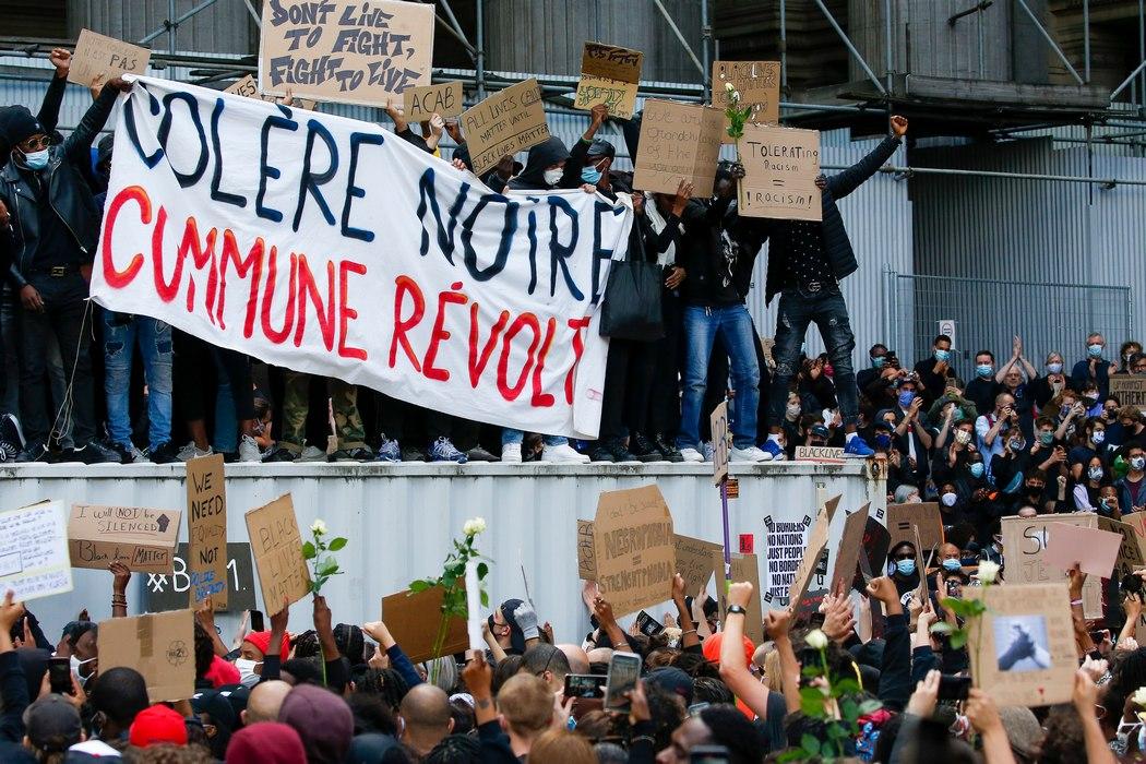 беспорядки в Брюсселе (Julien Varnand/EPA)