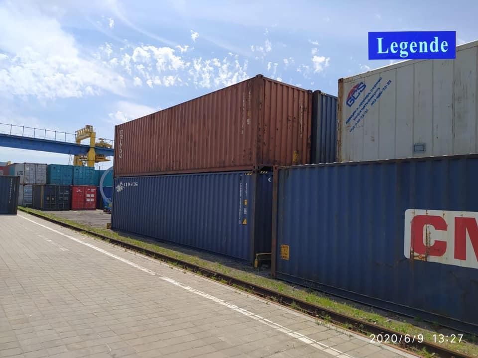 До Києва прибув перший контейнерний поїзд Китай-Україна