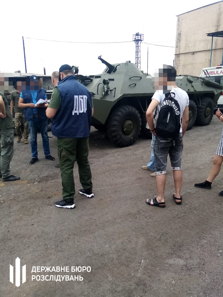 ГБР нашло похищенный в 2015 году в Краматорске бронетранспортер. Его вернут ВСУ