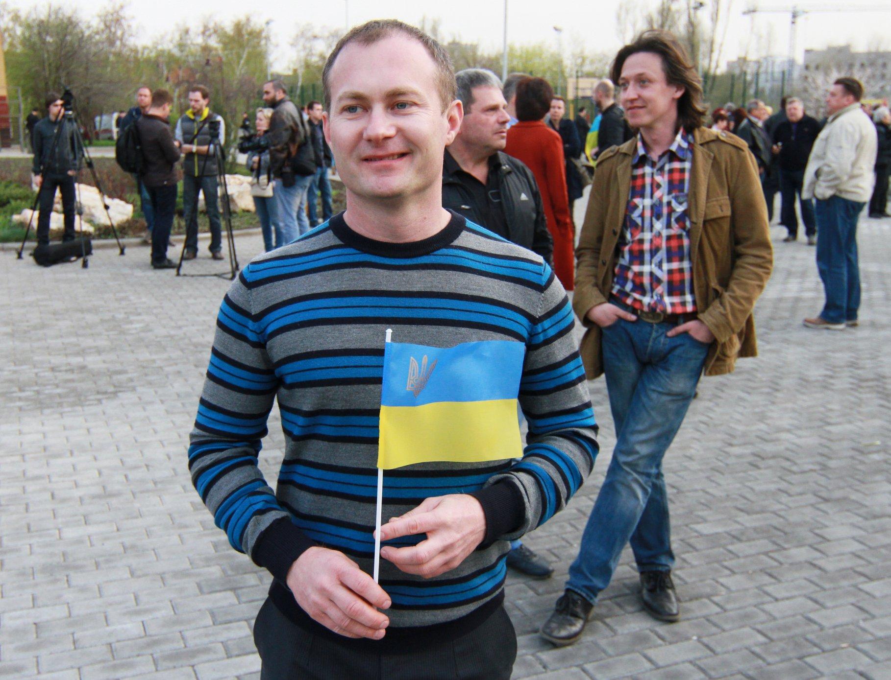 Сергей Гармаш (фото - Facebook Сергея Ваганова)