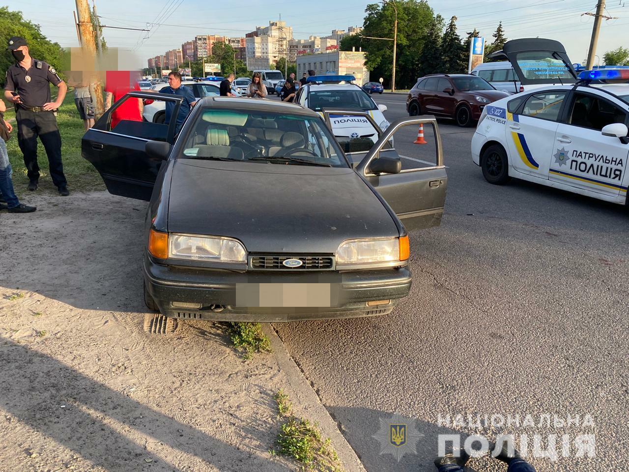 Задержание подозреваемого (Фото: пресс-служба полиции Днепропетровской области)