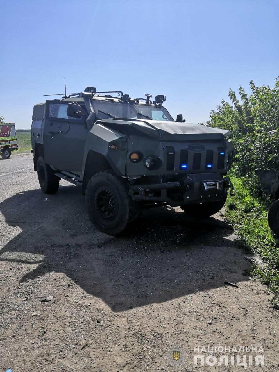 На месте аварии (Фото: пресс-служба полиции Харьковской области)