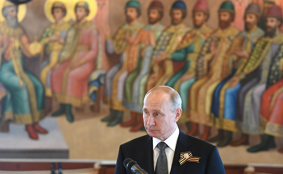Владимир Путин (фото - пресс-служба Кремля)