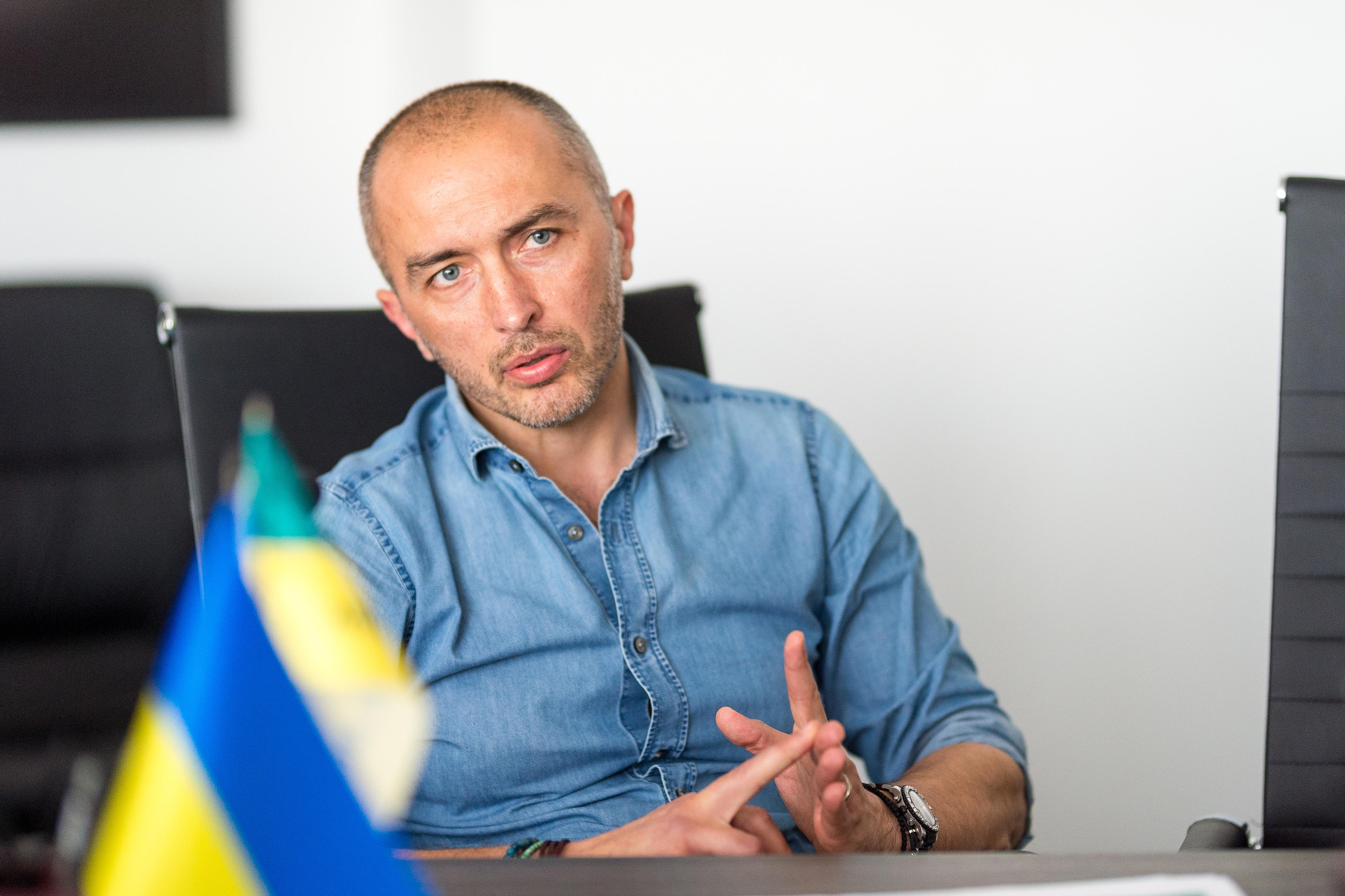 Андрей Пышный, Ощадбанк. Фото: Дмитрий Коренев