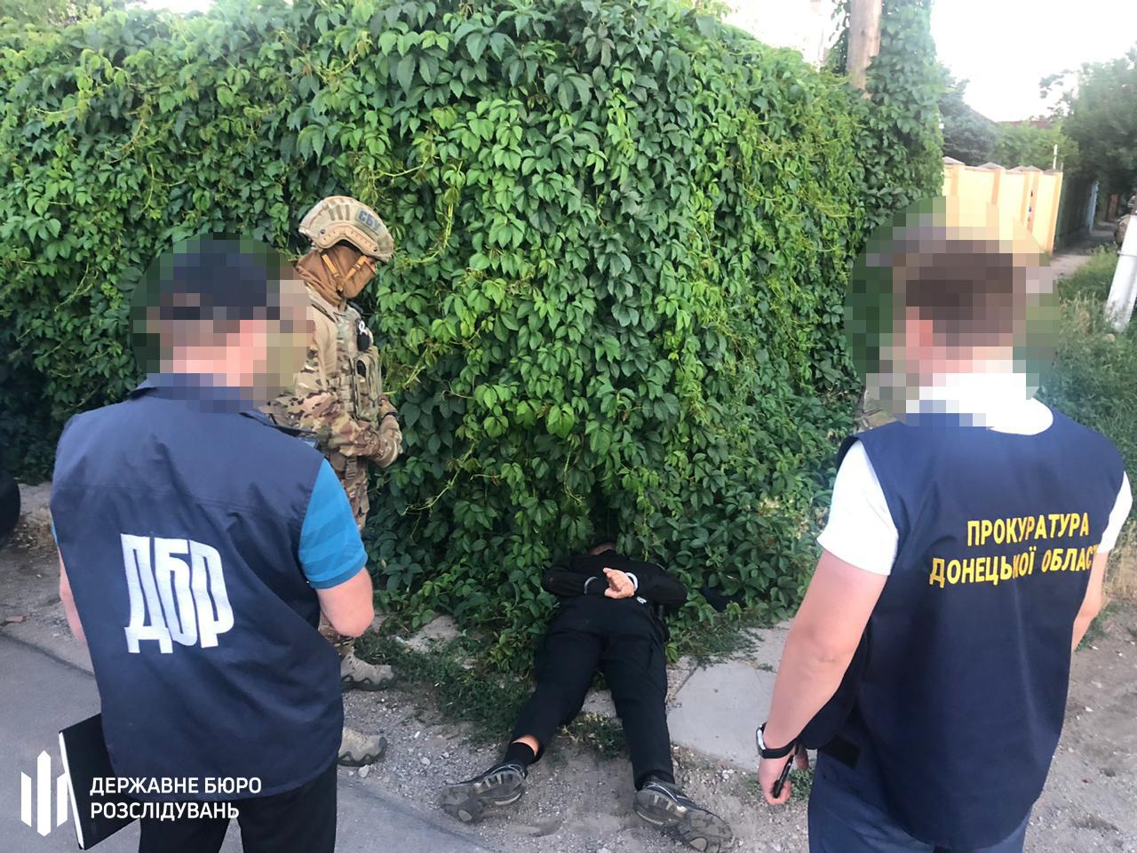 Задержание правоохранителей