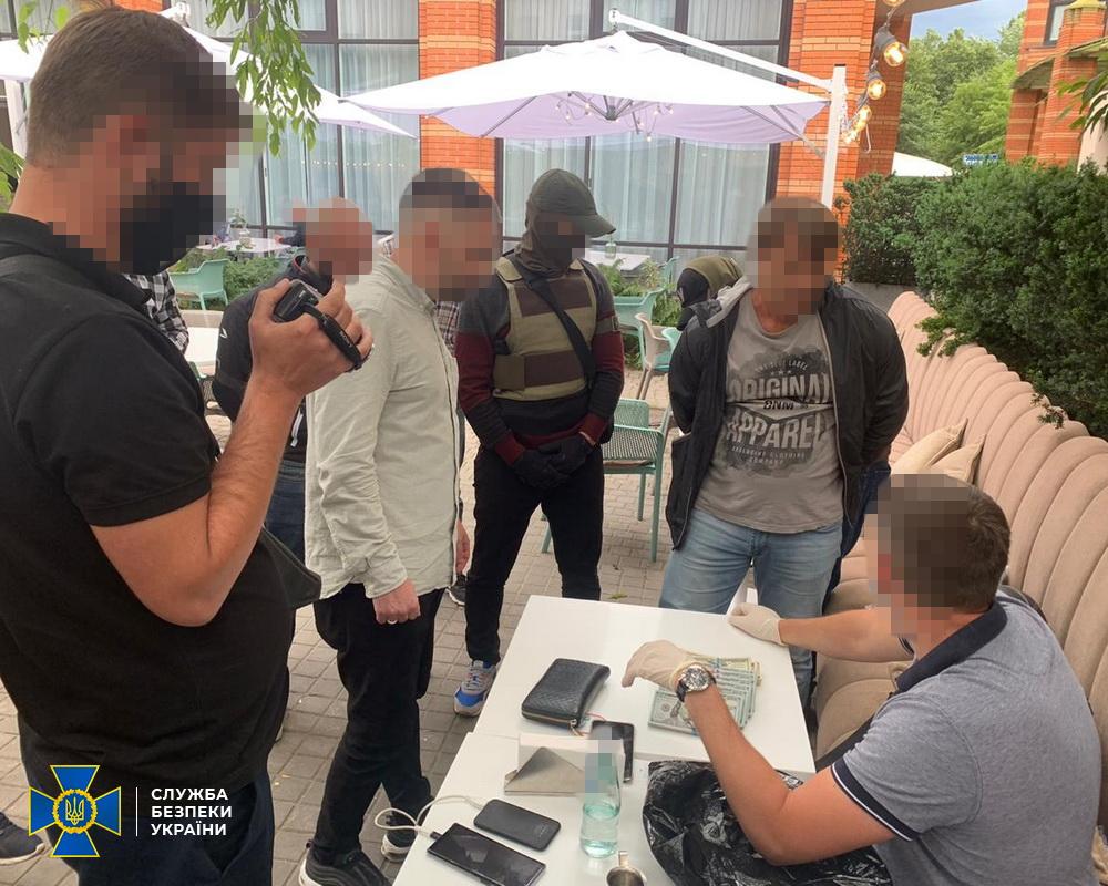 Задержание Дмитрия Штанько