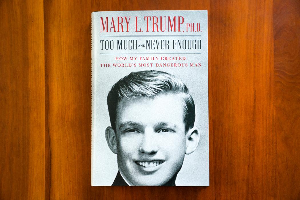 Книга Мэри Трамп (Jim lo Scalzo/ЕРА)