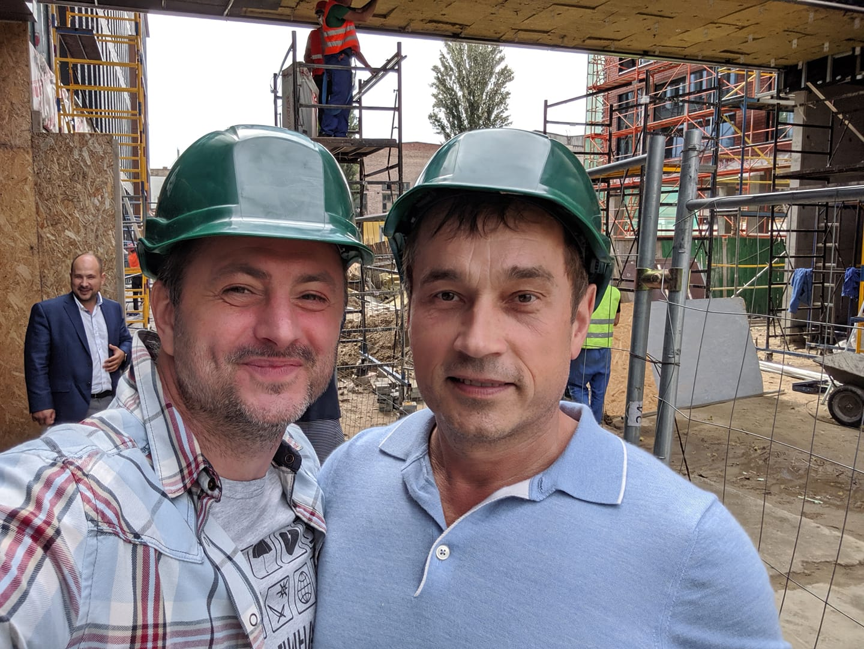 Максим Бахматов и Василий Хмельницкий (фото - Facebook Бахматова)