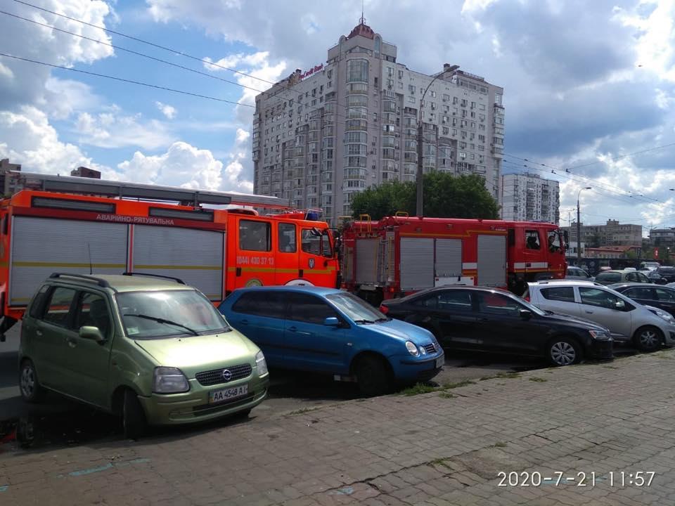 Район рынка Минский 21 июля
