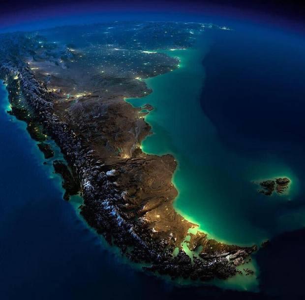 Война-1982. Из космоса показали острова, за которые воевали Британия и Аргентина