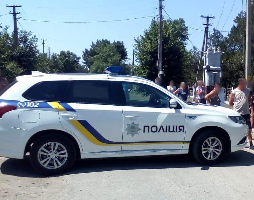 Полиция на месте инцидента