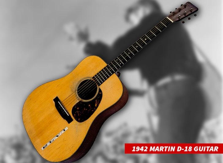 Гитара Элвиса Пресли ушла с молотка за рекордные $1,32 млн